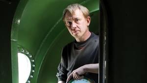 """Peter Madsen steht 2008 in seinem U-Boot """"Nautilus"""""""