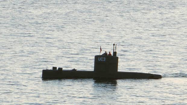 Die Nautilus, an Bord Peter Madsen und Kim Wall: Dieses Foto machte Peter Thompson