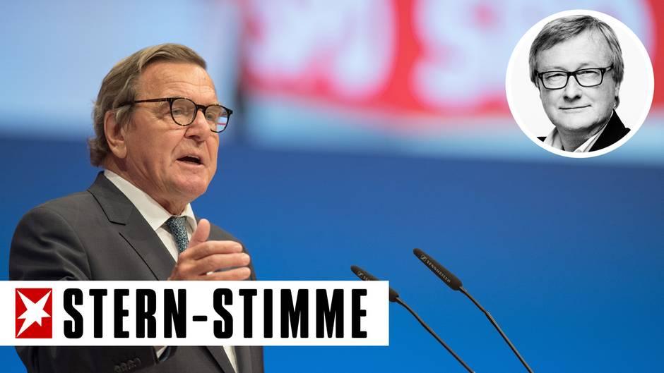 Hans-Ulrich Jörges' Klartext: Russland: Schröder hat recht!