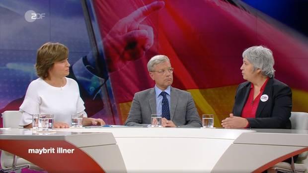 """Thema bei """"Maybrit Illner"""" war """"Erdogan und die Deutschen - Eskalation im Wahlkampf?"""""""