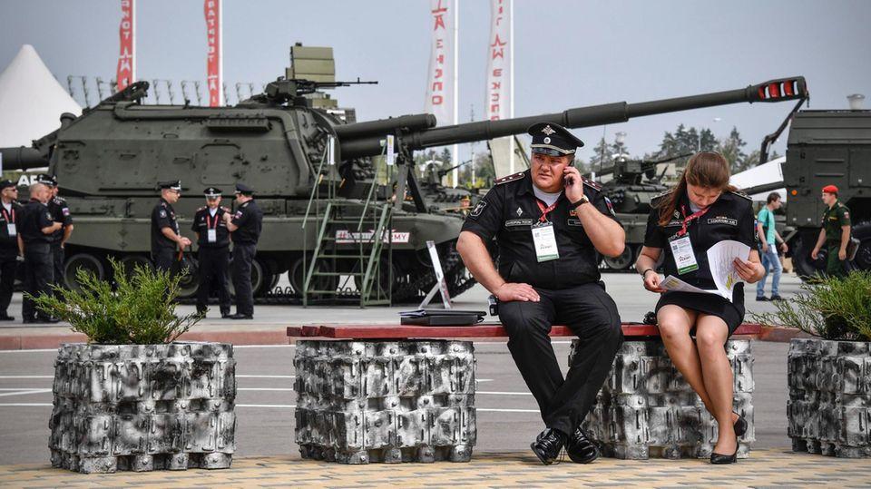 Die schwere Artillerie hat in Russland eine größere Bedeutung als in NATO-Staaten.