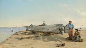 Warum die U-Boot-Crew der H. L. Hunley für ihren eigenen Untergang gesorgt hat