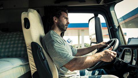 Gehalt von LKW-Fahrern