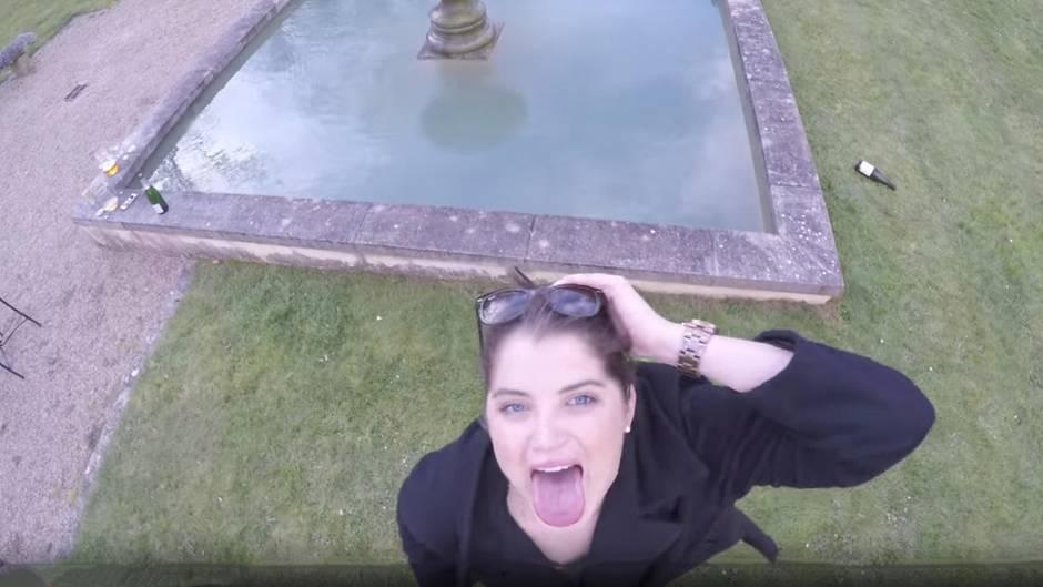 Viraler Hit: Frau will von Drohne gefilmt werden – doch das geht nach hinten los