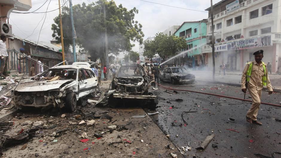 Mindestens zehn Tote bei US-Luftangriff in Somalia