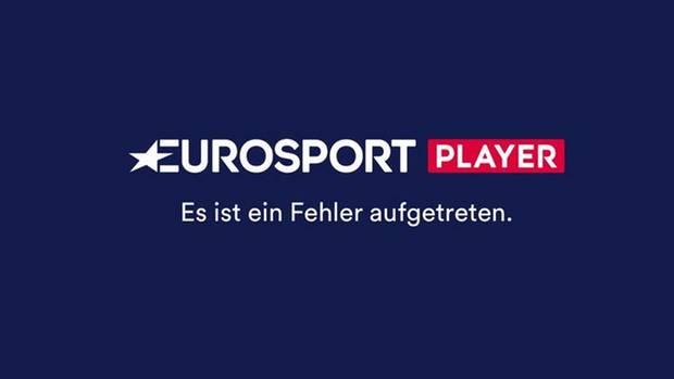 Eurosport Player: Viele Bundesliga-Fans bekommen nur einen blauen Bildschirm zu sehen