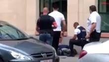 In Brüssel hat ein Mann Soldaten angegriffen und ist daraufhin erschossen worden