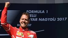 Sebastian Vettel verlängert bei Ferrari