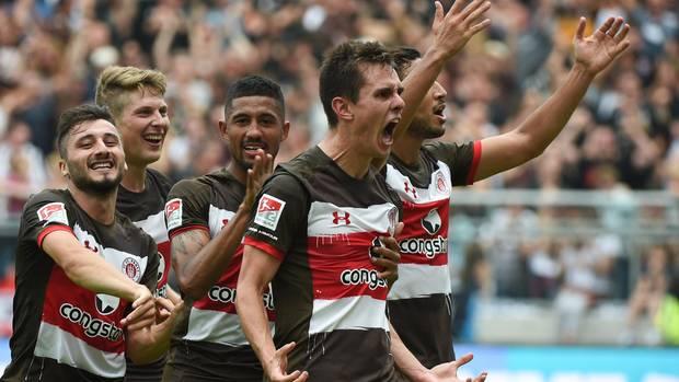 St. Pauli mit Last-Minute-Sieg in der 2. Liga
