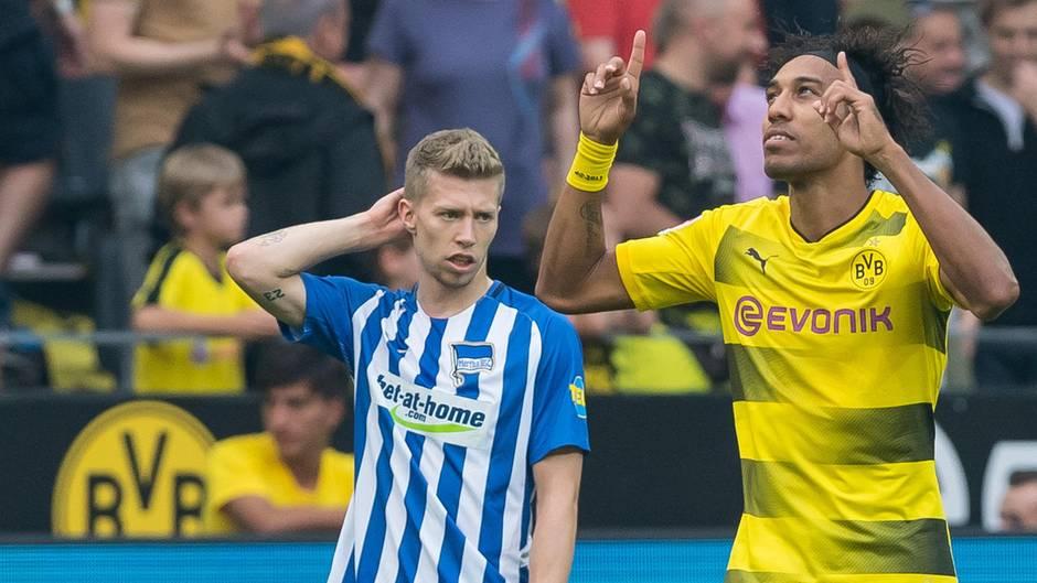 Pierre-Emerick Aubayemang zieht mit dem BVB mit Lewandowski und FC Bayern gleich