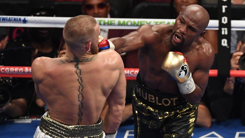 Floyd Mayweather besiegt MMA-Kämpfer Conor McGregor per technischem K.o.