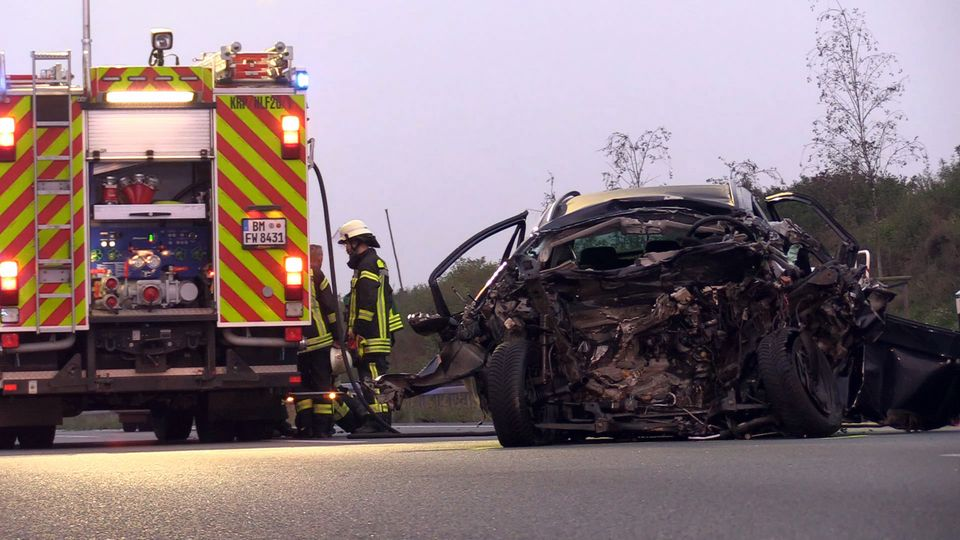 Unfallserie auf der A4 Autobahn bei Kerpen: Vier Menschen kommen ums Leben