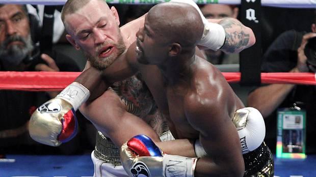 Boxen: Mayweather gewinnt gegen McGregor