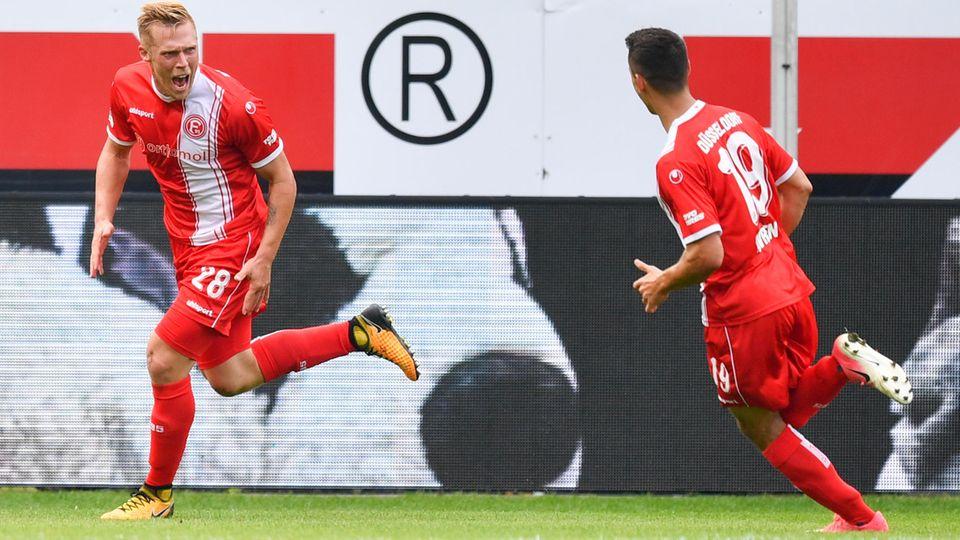 Fortuna Düsseldorf siegt durch Hennings-Tor in Sandhausen