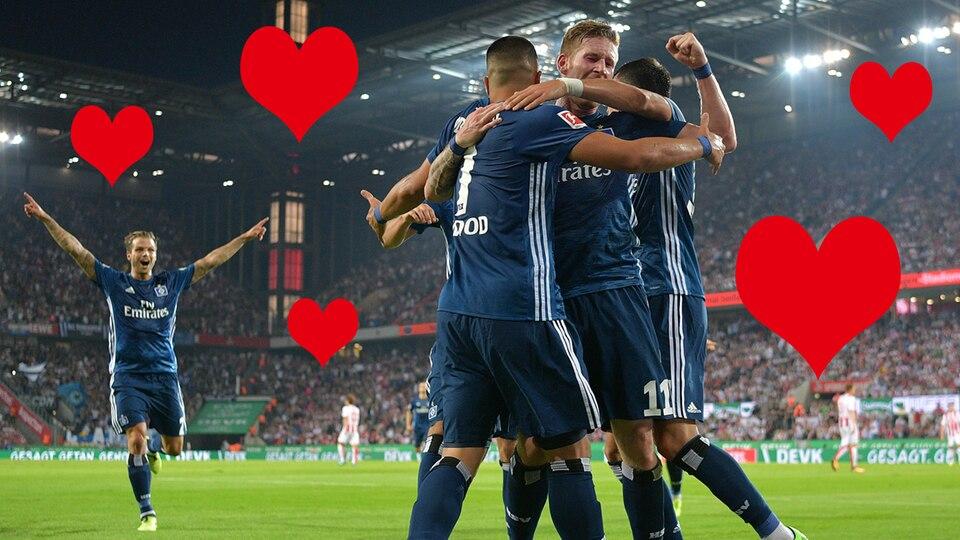 Ein Herz für den HSV