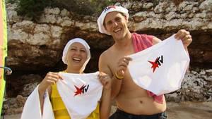 Gesponserte Unterwäsche für Alina und Marcel.