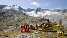 Die Rettungskräfte konnten in den österreichischen Alpen fünf Bergsteiger nur noch tot bergen