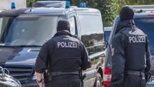 Bei der Razzia wegen Terrorverdachts kamen auch Beamte einer Spezialeinheit der Bundespolizei zum Einsatz