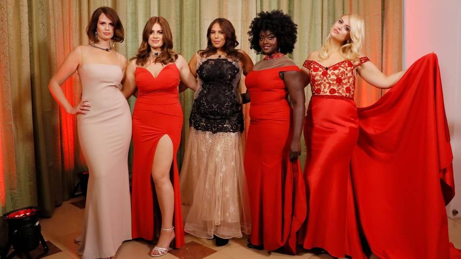 die großen sechs Supermodels