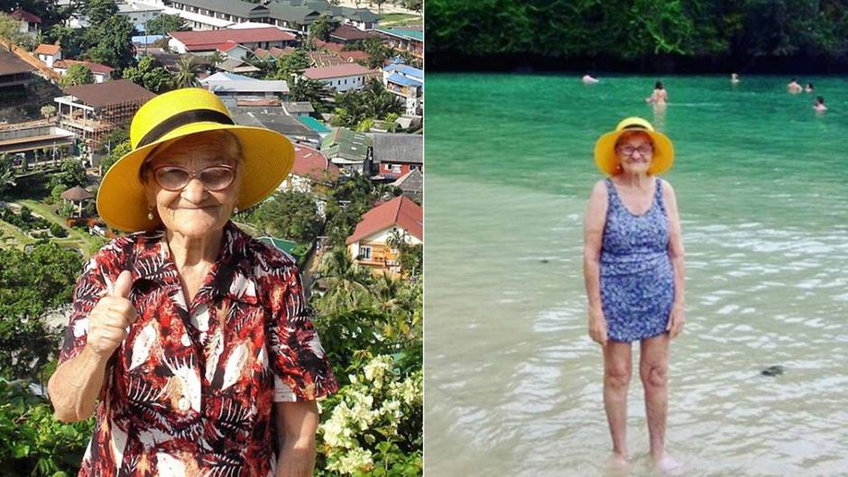 """Instagram-Star """"Babushka_1927"""": Diese Frau ist 90 und reist um die Welt - das ist ihr Geheimnis"""
