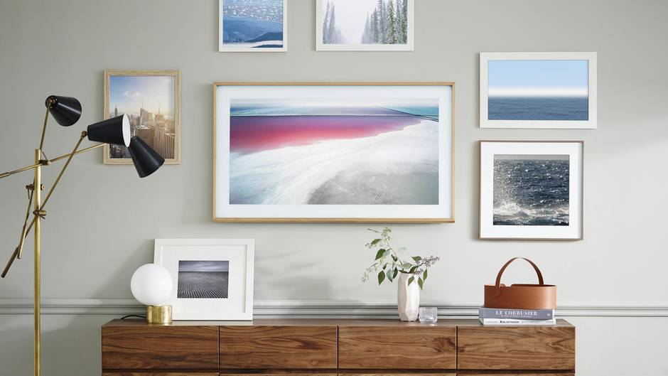 Lovely Samsung The Frame Fernseher