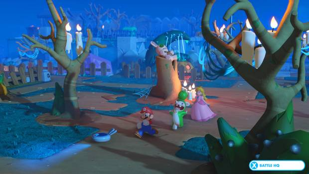 Derf freidhof in Mario & Rabbids Kingdom Battle