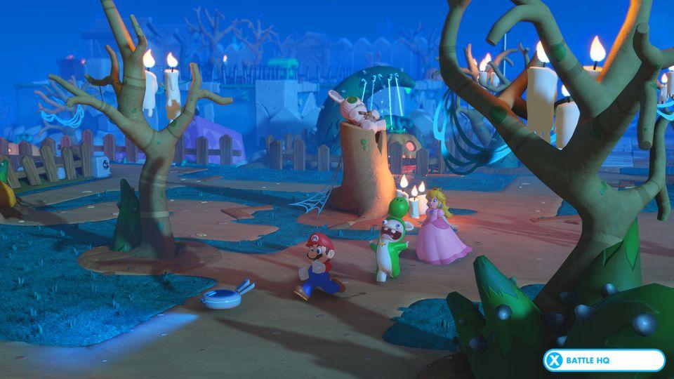 Derf freidhof in Mario & Rabbids Kingdom Battle