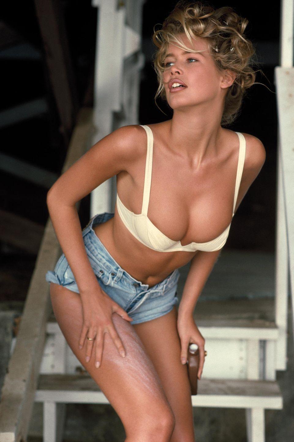 Die schönsten Fotos von Claudia Schiffer