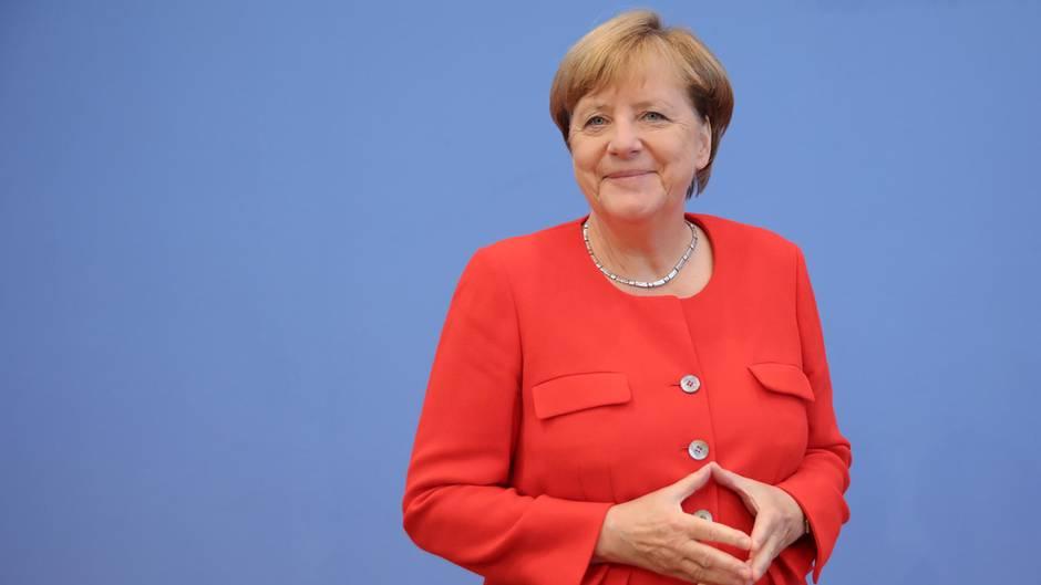 Pressekonferenz Angela Merkel