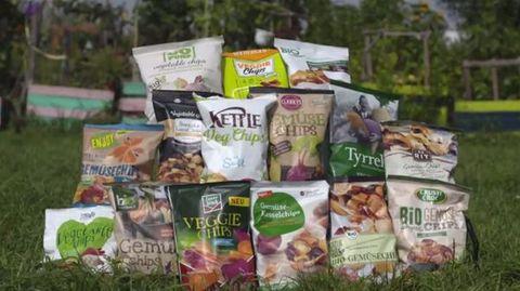 Stiftung Warentest: Warum Sie die Finger von Gemüsechips aus der Tüte lassen sollten