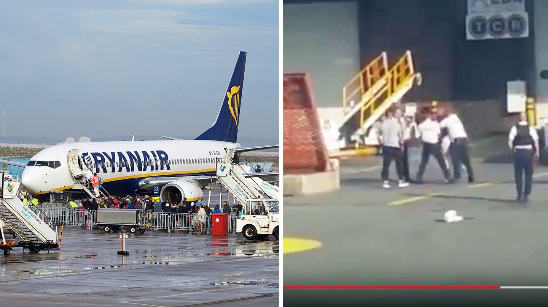 Der Zwischenfall ereignete sich am 25. August auf einem Ryanair-Flug von London nach Ibiza.