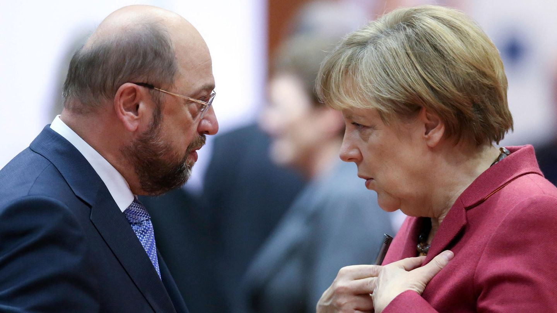 TV-Duell Angela Merkel vs Martin Schulz - Kanzlerin ließ Format bestimmen
