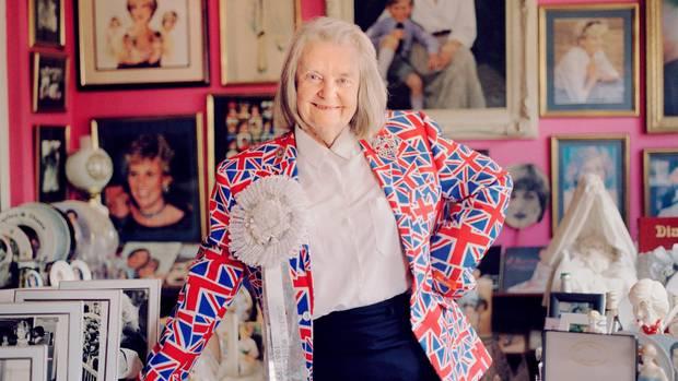 Die Prinzessin und ihr größter Fan: Margaret Tyler hat ihr Haus in London komplett der königlichen Familie und vor allem Diana gewidmet