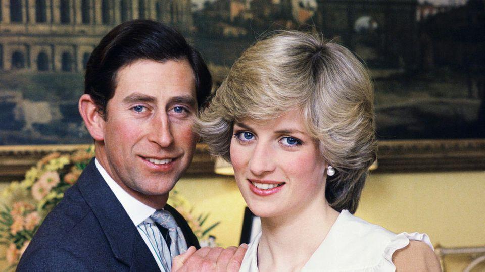 Es war einmal ... Nach holprigem Start war erst noch alles gut zwischen Charles und Diana. Das änderte sich schnell