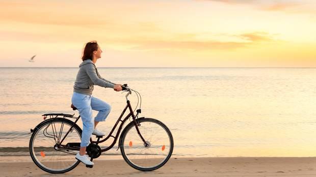 Hollandrad mit flachem Einstieg