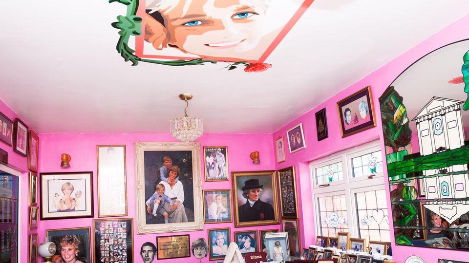 Wertvolle Erinnerung und wertvolle Fracht: Margaret Tylers Diana-Zimmer