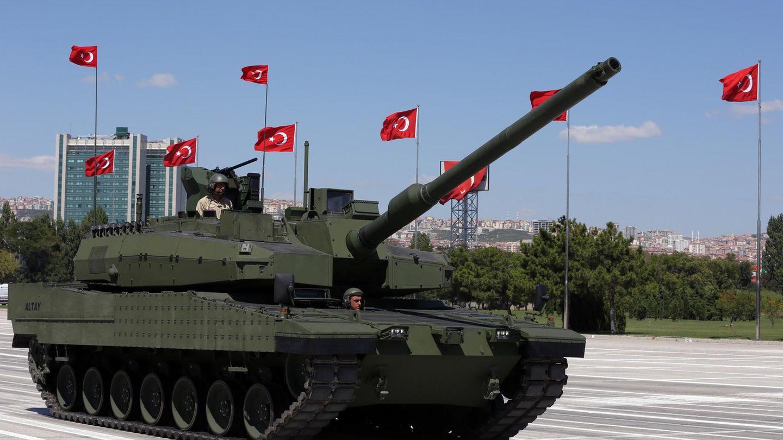 Der Prototyp des Altay-Panzers