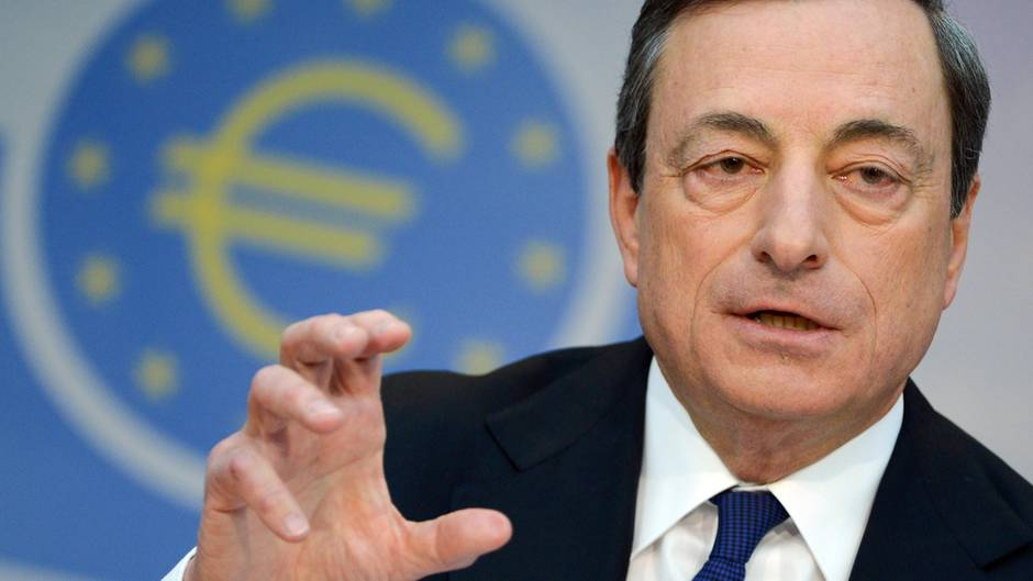 Starker Euro? EZB-Präsident Mario Draghi interveniert bislang nicht