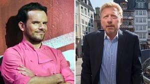 Boris Becker und Steffen Henssler
