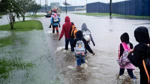Hurrikan Harvey Houston Texas