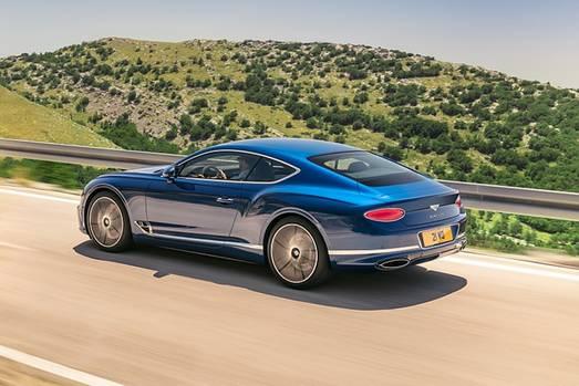 Der Bentley Continental feiert auf der IAA seine Weltpremiere