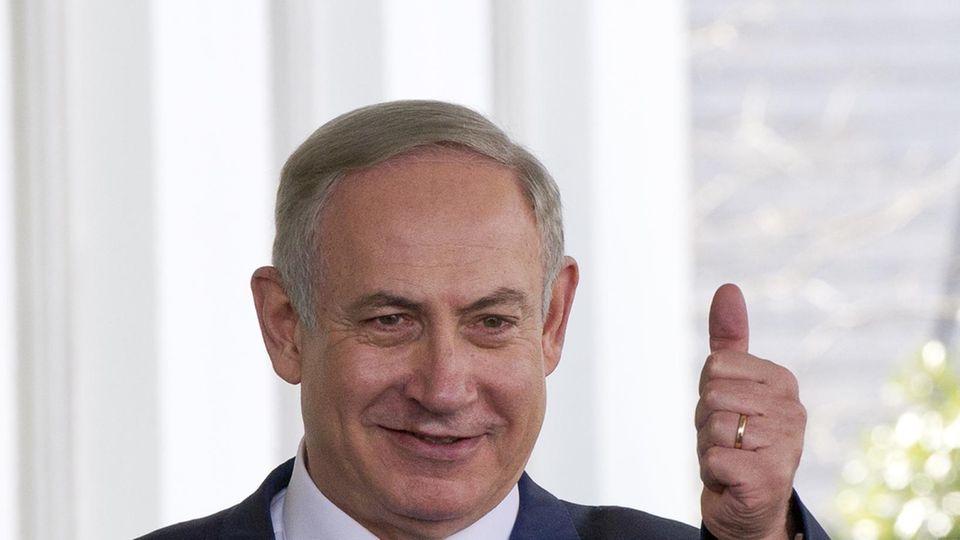 Der israelische Staatschef Benjamin Netanjahu