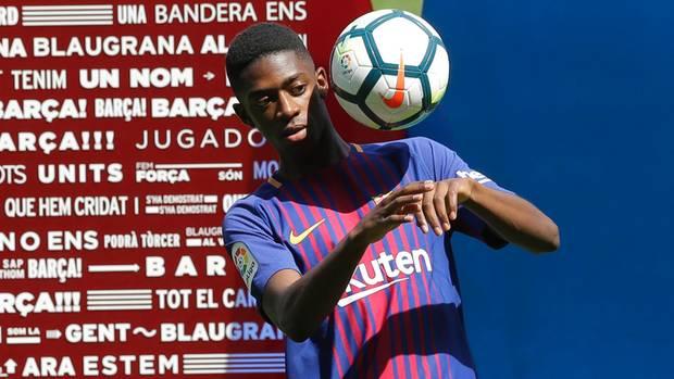 Ousmane Dembélé wurde für bis zu 148 Millionen Euro vom BVB zum FC Barcelona verkauft