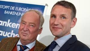 Alexander Gauland hält Börn Höcke nicht für einen Nazi