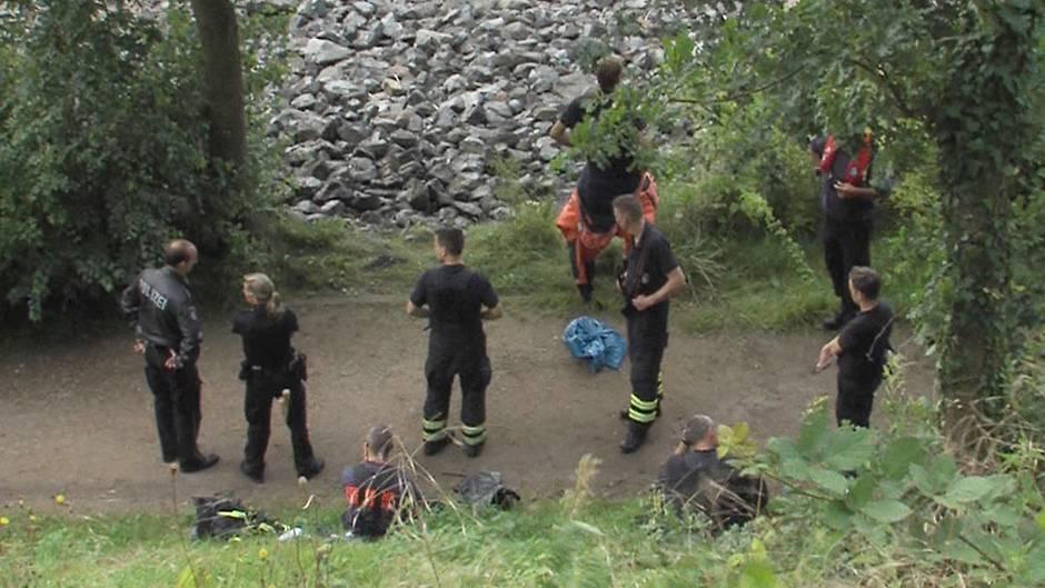 Am 3. August wurden in Hamburg-Rissen die ersten Leichenteile gefunden