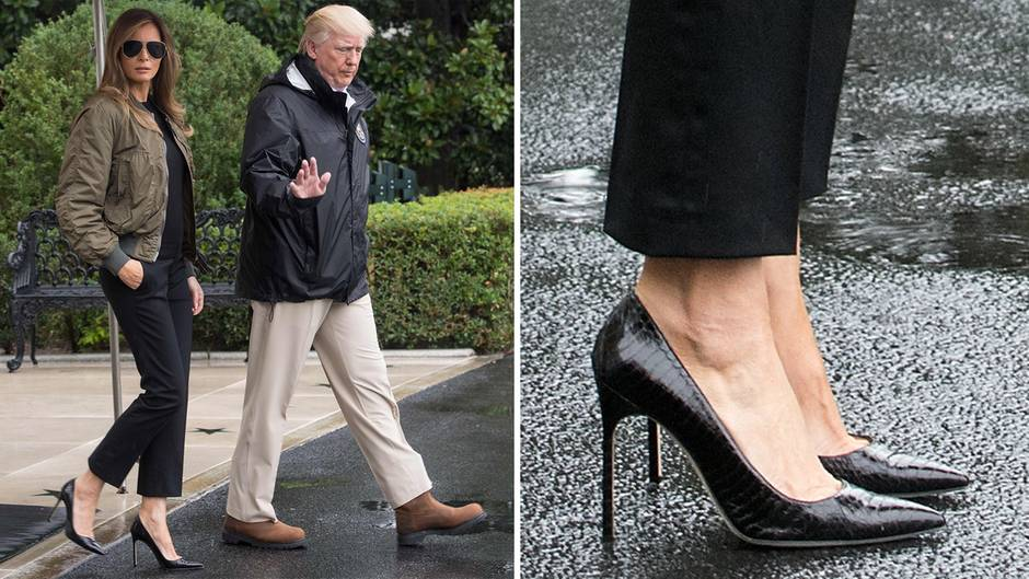 Melania Trump High Heels Texas neu