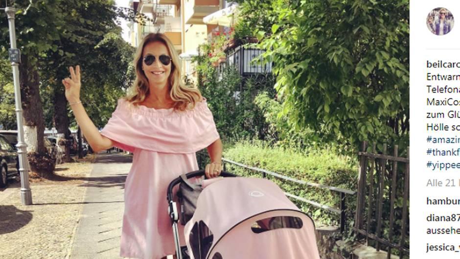 Caroline Beil auf Instagram
