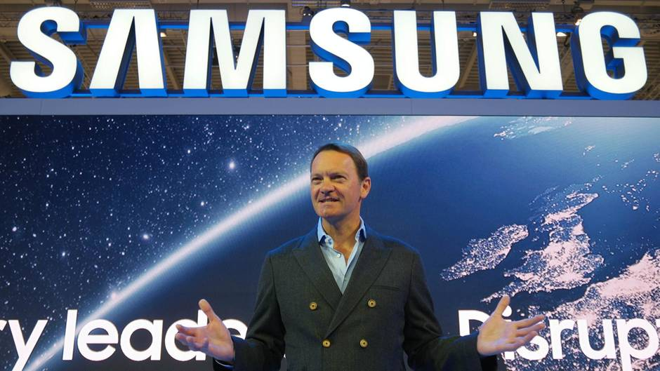 IFA 2017 Samsung CMO David Lowes