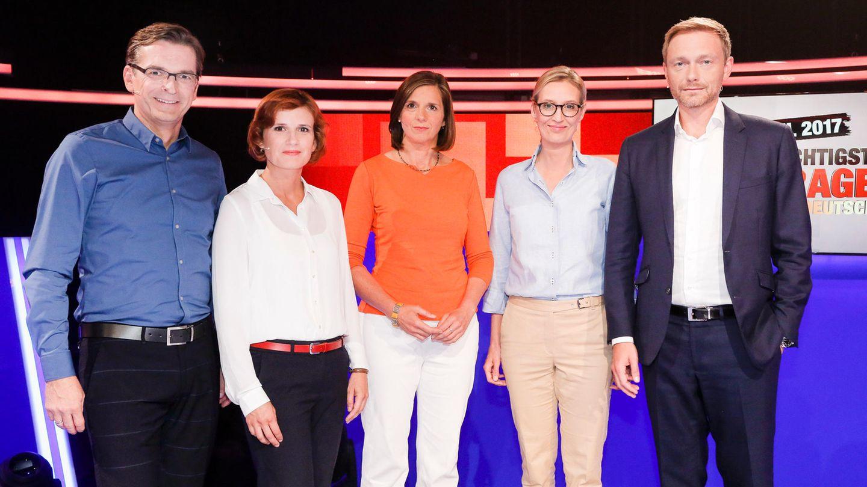 Christian Lindner TV-Duell der kleinen Parteien