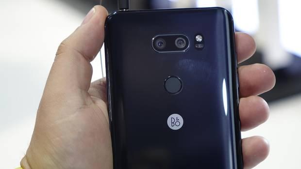 Die Rückseite LG V30
